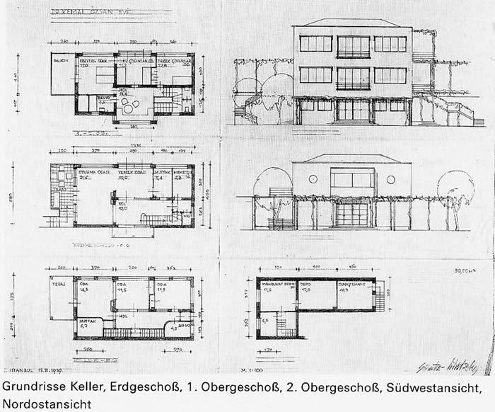 Entwurf Haus Dr Kemal Ozan